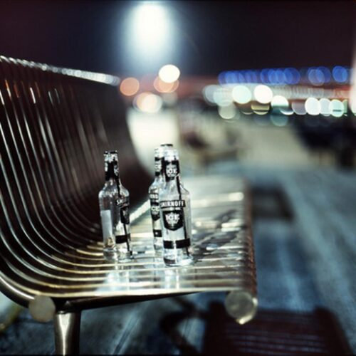 Vodka coolers_smirnoff-street bench_s